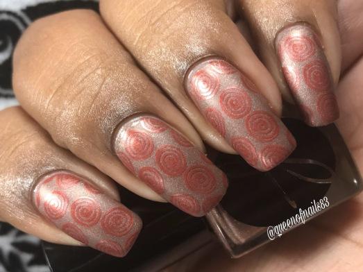 Fallen Acorn w/ nail art