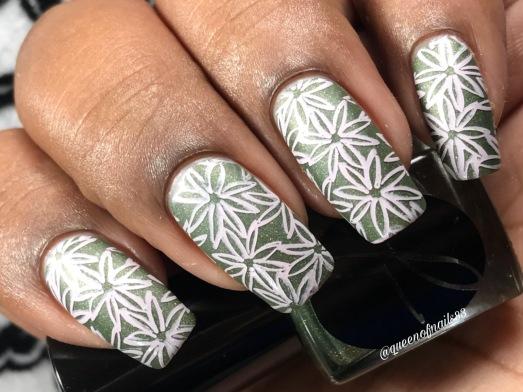 Dense Moss w/ nail art
