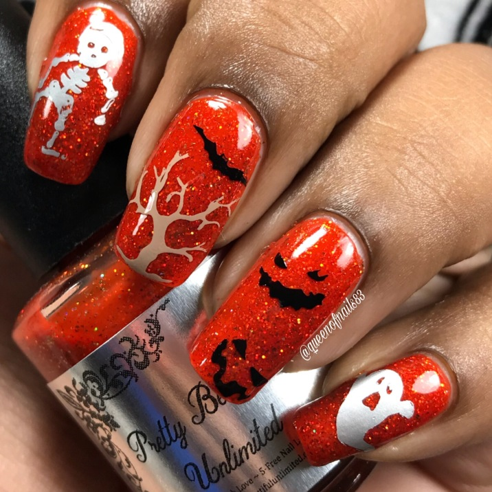October Nail Drama Box - Halloween