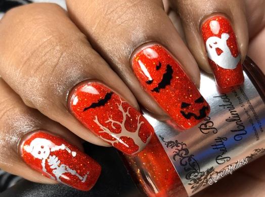 Toil w/ nail art