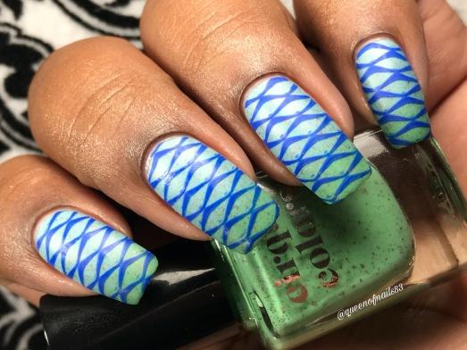 Magic Turquoise (LE) w/ nail art