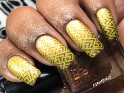 Patina (LE) w/ nail art