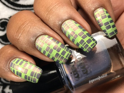 Velvetine (LE) w/ nail art