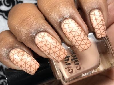 Madison w/ nail art