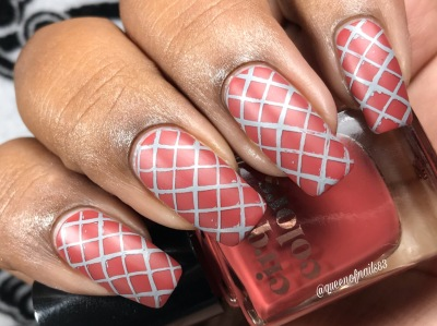 Red Hook w/ nail art