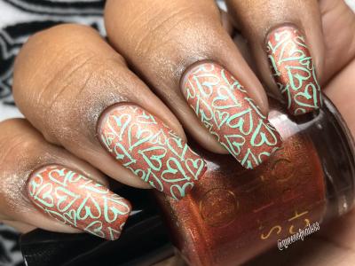 Autumn Serenity - w/ nail art