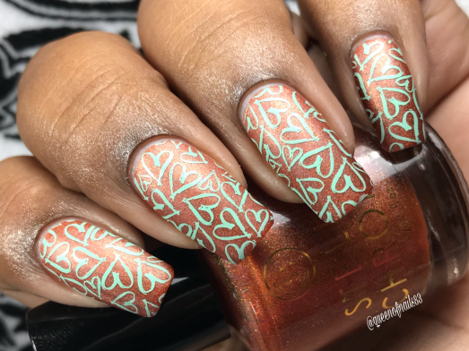 Autumn Serenity - w/ nail art