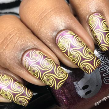 Sandy Claws w/ nail art