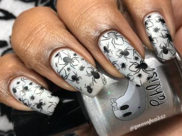 Oogie Boogie w/ nail art