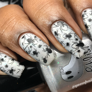 Oogie Boogie w/ nail art