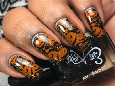 Indie Shop LEs - Be Afraid, Be Very Afraid w/ nail art