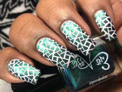 Bewitching Duo - Toil & Trouble w/ nail art