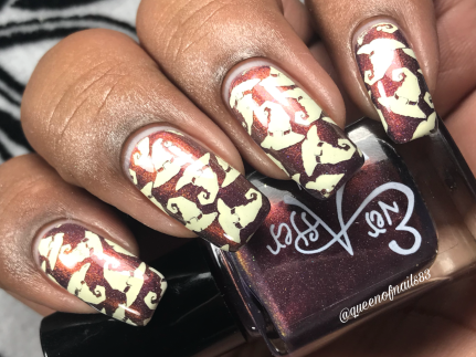 Bewitching Duo - Witching Hour w/ nail art