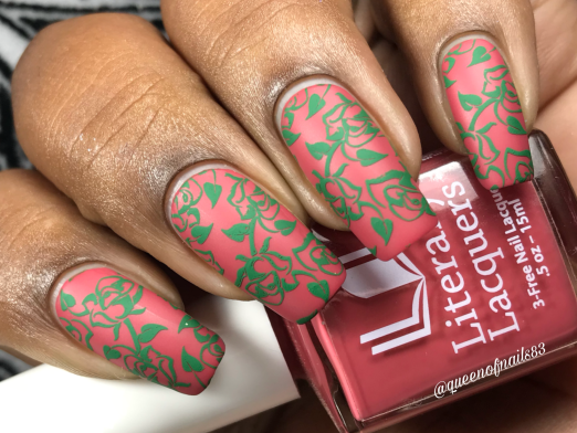 The Faulkner Duo - A Rose for Emily w/ nail art