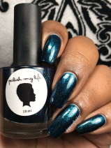 """Polish My Life - Sneaky Little """"A"""" w/ glossy tc"""