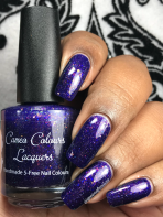 Cameo Colours Lacquers - Shuttity Up Up Up w/ glossy tc
