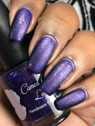 Cameo Colours Lacquers - Shuttity Up Up Up w/ matte tc
