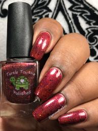 Turtle Tootsie Polishes - DP w/ glossy tc