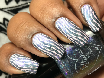 Polished For Days - Dance It Out w/ nail art