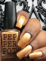 Pepper Pot Polish - She Saved The World A Lot w/ glossy tc