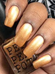 Pepper Pot Polish - She Saved The World A Lot w/ matte tc