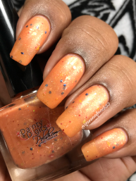 Dainty Digits Polish - Sailor Venus w/ matte tc