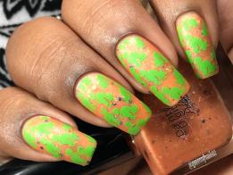 Dainty Digits Polish - Sailor Venus w/ nail art