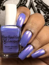 Blue-Eyed Girl Lacquer - Handsomest Boys w/ glossy tc