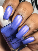 Blue-Eyed Girl Lacquer - Handsomest Boys w/ matte tc