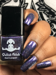 Dollish Polish - If One Wolf Survives, The Sheep Are Never Safe w/ glossy tc