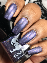 Dollish Polish - If One Wolf Survives, The Sheep Are Never Safe w/ matte tc