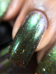 Night Owl Lacquer - Battle of Hogwarts macro