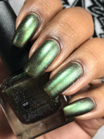 Night Owl Lacquer - Battle of Hogwarts w/ matte tc