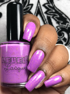 LevelUp Lacquer - Oh My Glob! w/ glossy tc