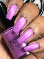 LevelUp Lacquer - Oh My Glob! w/ matte tc