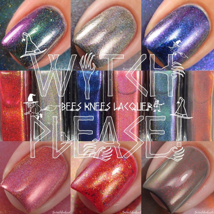 Guest Blogger: Amanda Castoe of Secret Life of Nails – Swatch and Review – Bee's Knees Lacquer