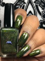 Smokey Mountain Lacquers - Flying High w/ glossy tc
