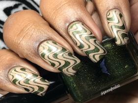 Smokey Mountain Lacquers - Flying High w/ nail art