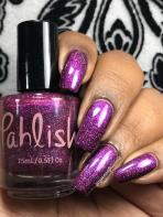 Pahlish – Cherrybonbon w/ glossy tc