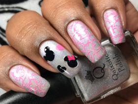 Quixotic Polish - I Am Beyoncé, Always w/ nail art