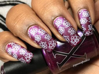 Baroness X - Menage a Troi w/ nail art