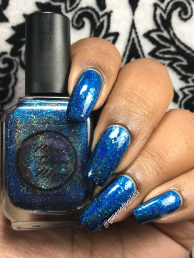 Moon Shine Mani - The Department of Mysteries w/ glossy tc