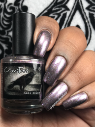 CrowsToes Nail Color - Not Without My Wonderful Towel w/ glossy tc