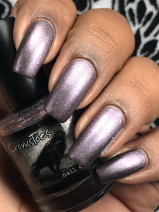 CrowsToes Nail Color - Not Without My Wonderful Towel w/ matte tc
