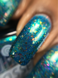 Lollipop Posse Lacquer - Spirit of the Kohaku River macro