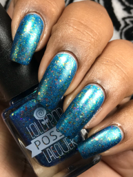 Lollipop Posse Lacquer - Spirit of the Kohaku River w/ matte tc