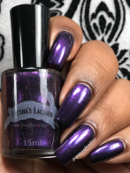 Leesha's Lacquer - Lip Sync for Your Life w/ glossy tc