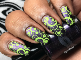 Leesha's Lacquer - Lip Sync for Your Life w/ nail art