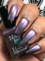 Nail Hoot - I Do Hope I'm Interrupting Something w/ matte tc