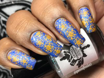 Iocaine Powder - w/ nail art
